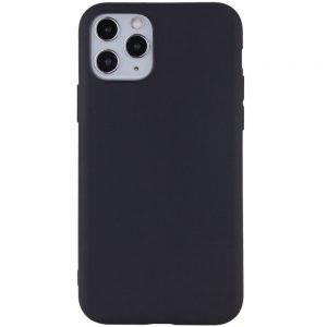 Матовый силиконовый TPU чехол для Iphone 11 Pro – Черный