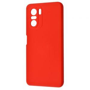 Чехол WAVE Colorful Case с микрофиброй для Xiaomi Poco F3 – Red