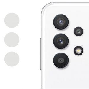 Гибкое защитное стекло 0.18mm на камеру для Samsung Galaxy A32