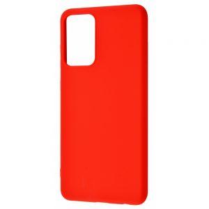 Чехол WAVE Colorful Case с микрофиброй для Samsung Galaxy A72 – Red