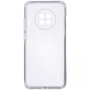 Прозрачный силиконовый TPU чехол GETMAN для Xiaomi Redmi Note 9T
