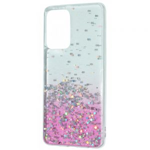 Силиконовый TPU чехол WAVE Confetti Case для Samsung Galaxy A32 – Pink