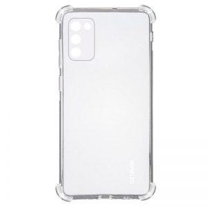 Чехол TPU GETMAN Ease с усиленными углами для Samsung Galaxy A02s – Clear