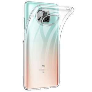 Прозрачный силиконовый TPU чехол для Xiaomi Mi 10T Lite