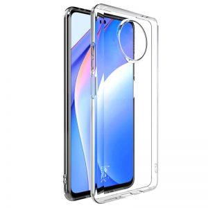 Прозрачный силиконовый TPU чехол для Xiaomi Redmi Note 9T