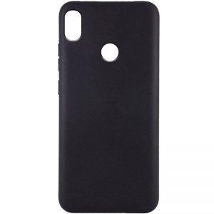 Матовый силиконовый TPU чехол для Tecno POP 3 – Черный