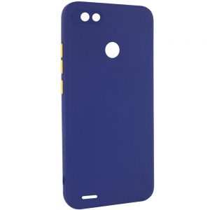 Чехол TPU Square Full Camera для Tecno POP 2F – Синий