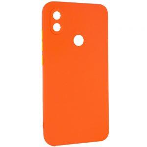 Чехол TPU Square Full Camera для Tecno POP 3 – Оранжевый