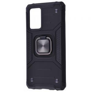 Ударопрочный чехол Hard Defence под магнитный держатель для Samsung Galaxy A72 – Black