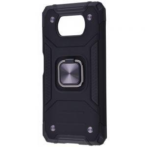 Ударопрочный чехол Hard Defence под магнитный держатель для Xiaomi Poco X3 Pro / Poco X3 NFC – Black