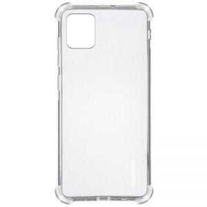 Чехол TPU GETMAN Ease с усиленными углами для Samsung Galaxy Note 10 Lite – Clear