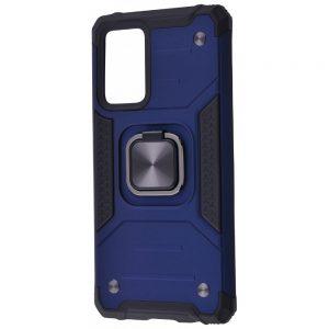 Ударопрочный чехол Hard Defence под магнитный держатель для Samsung Galaxy A72 – Blue