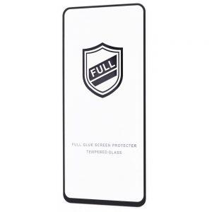 Защитное стекло 3D (5D) Perfect Glass Full Glue на весь экран для Xiaomi Redmi Note 10 Pro — Black