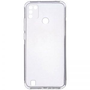 Прозрачный силиконовый чехол Epic с защитой камеры для Tecno POP 4 Pro (BC3)