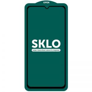 Защитное стекло 3D (5D) Perfect Glass Full Glue SKLO на весь экран для Samsung Galaxy A32 – Black