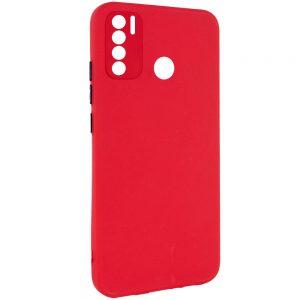 Чехол TPU Square Full Camera для Tecno Spark 5 Pro – Красный