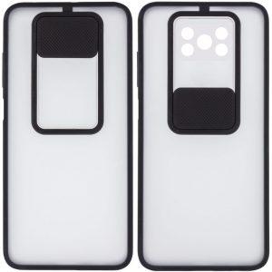 Чехол Camshield mate TPU со шторкой для камеры для Xiaomi Poco X3 NFC / Poco X3 Pro – Черный