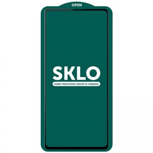 Защитное стекло 3D (5D) Perfect Glass Full Glue SKLO на весь экран для Samsung Galaxy S21 Plus – Black