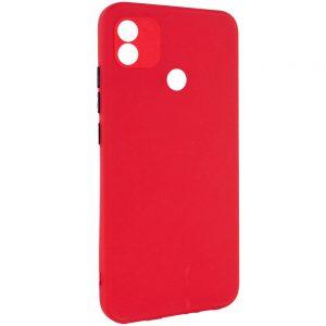Чехол TPU Square Full Camera для Tecno POP 4 – Красный