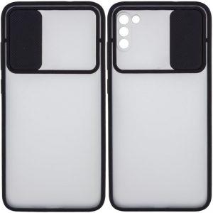 Чехол Camshield mate TPU со шторкой для камеры для Xiaomi Poco M3 – Черный