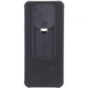 Чехол Camshield TPU со шторкой защищающей камеру для Tecno Spark 6 – Черный