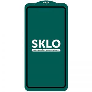 Защитное стекло 3D (5D) Perfect Glass Full Glue SKLO на весь экран для Realme 7 Pro – Black