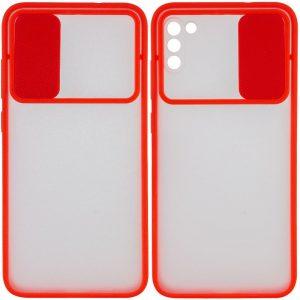 Чехол Camshield mate TPU со шторкой для камеры для Xiaomi Poco M3 – Красный