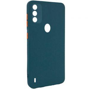 Чехол TPU Square Full Camera для Tecno Spark 6 Go – Зеленый