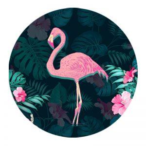 Держатель для телефона PopSockets Glass – Фламинго / Черный