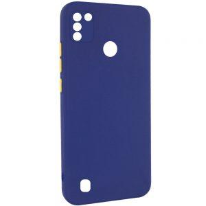 Чехол TPU Square Full Camera для Tecno POP 4 Pro (BC3) – Синий