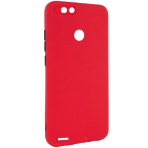 Чехол TPU Square Full Camera для Tecno POP 2F – Красный