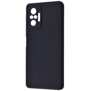 Чехол WAVE Colorful Case с микрофиброй для Xiaomi Redmi Note 10 Pro – Black
