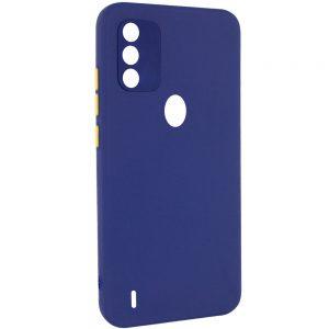 Чехол TPU Square Full Camera для Tecno Spark 6 Go – Синий