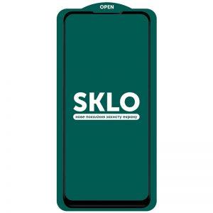 Защитное стекло 3D (5D) Perfect Glass Full Glue SKLO на весь экран для Oppo A53 / A32 / A33 – Black