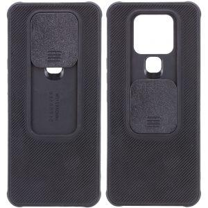Чехол Camshield TPU со шторкой защищающей камеру для Tecno Camon 16 SE – Черный