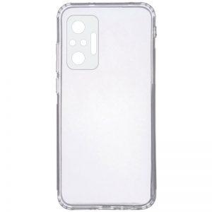 Прозрачный силиконовый TPU чехол GETMAN для Xiaomi Redmi Note 10 Pro