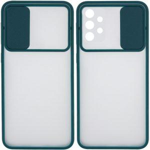 Чехол Camshield mate TPU со шторкой для камеры для Samsung Galaxy A52 – Зеленый