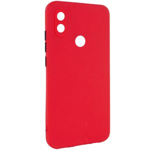 Чехол TPU Square Full Camera для Tecno POP 3 – Красный