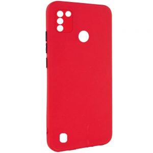 Чехол TPU Square Full Camera для Tecno POP 4 Pro (BC3) – Красный