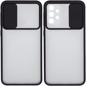 Чехол Camshield mate TPU со шторкой для камеры для Samsung Galaxy A32 – Черный