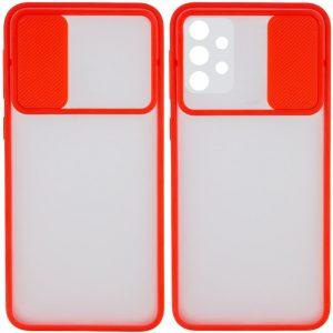Чехол Camshield mate TPU со шторкой для камеры для Samsung Galaxy A32 – Красный