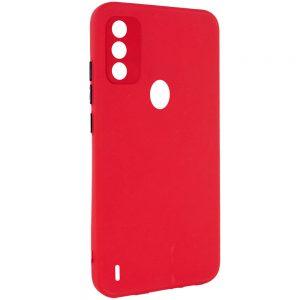 Чехол TPU Square Full Camera для Tecno Spark 6 Go – Красный
