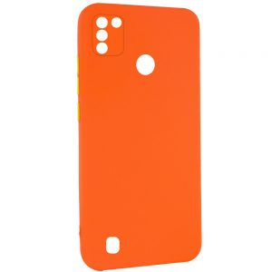Чехол TPU Square Full Camera для Tecno POP 4 Pro (BC3) – Оранжевый