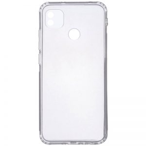 Прозрачный силиконовый чехол Epic с защитой камеры для Tecno POP 4