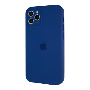 Защитный чехол Silicone Cover 360 Square Full для Iphone 11 Pro Max – Royal Blue