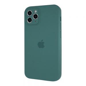 Защитный чехол Silicone Cover 360 Square Full для Iphone 11 Pro – Pine Green