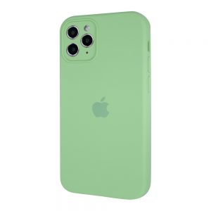 Защитный чехол Silicone Cover 360 Square Full для Iphone 11 Pro Max – Lime