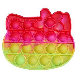 Антистресс игрушка Pop It Bubble Dimbl (Поп-ит) – Hello Kitty