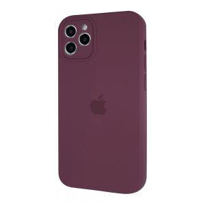 Защитный чехол Silicone Cover 360 Square Full для Iphone 11 Pro Max – Marsala