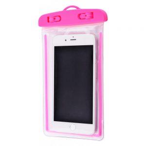 Водонепроницаемый универсальный чехол 5.5-6.5 (neon) – Pink